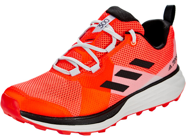 adidas TERREX Two Trail Running Shoes Men, solar red/core black/grey two